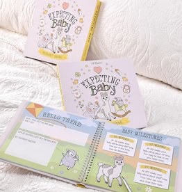 Lil' Llama Expecting Baby Memory Book