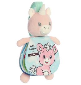 "Soft Books - 9"" Story Pals Imagine Unicorn"