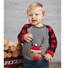 Mud Pie Buffalo Reindeer Sweater