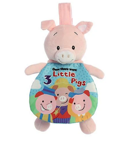 "Soft Books - 9"" Story Pals - 3 Little Pigs"