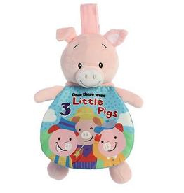 "Soft Books - 9"" Story Pals - 3 Little Pigs"