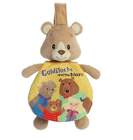 "Soft Books - 9"" Story Pals - Goldilocks And The 3 Bears"