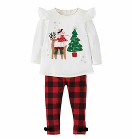 Mud Pie Reindeer Mouse Tunic Set
