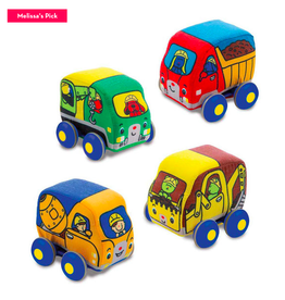 Melissa & Doug Pull Back Construction Vehicles