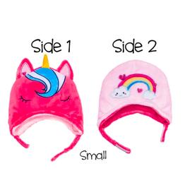 Winter Hat - Unicorn/Rainbow