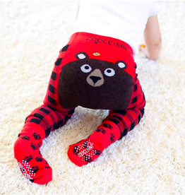 Zoocchini Bear Crawler Legging & Sock Set