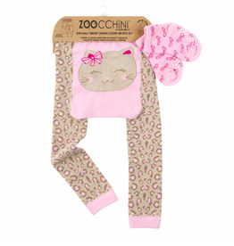 Zoocchini Kitten Crawler Legging & Sock Set