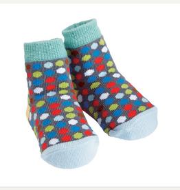 Mud Pie Dotted Socks, 0-12 Months
