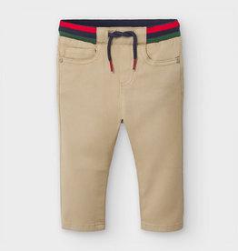Mayoral Baby Boy 5-Pocket Patterned Pants (Sand)