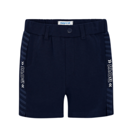 Mayoral Bermuda Shorts With Side Stripes (Blue)