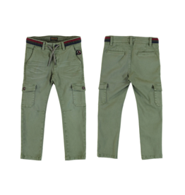 Mayoral Boy Cargo Pants with Drawstring Elastic Waistband