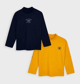 Mayoral Boy Long-Sleeved High Neck T-Shirt