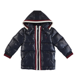 Mayoral Boy Puffy Thermal Coat with Detachable Hood