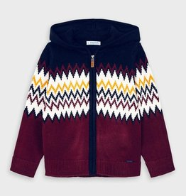 Mayoral Boy Woven Knit Jacket