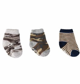 Mud Pie Camo Newborn Sock Set