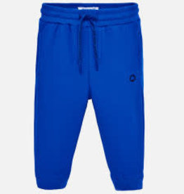Mayoral Cuffed Fleece Pants (Blue)