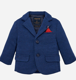 Mayoral Formal Knit Jacket (Blue)