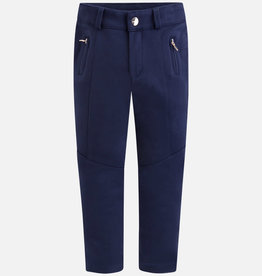 Mayoral Navy Skinny Stitch Pants