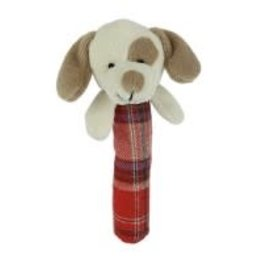 Maison Chic Max The Puppy Stick Rattle