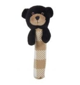 Griffin The Black Bear Stick Rattle