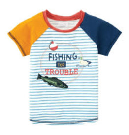 Mud Pie Fishing For Trouble Tee