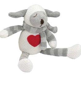 "Elegant Baby 10"" Lambie Knittie Bittie Toy"