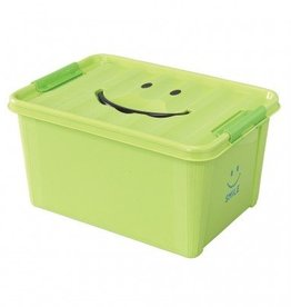 SMILE STORAGE BOX/Kids - Green, Medium
