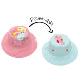 Flapjack Kids Reversible Mermaid/Seahorse Sun Hat