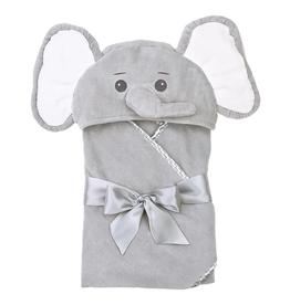 Bearington Lil' Spout Gray Elephant Towel