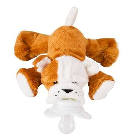 Paci-Plushies Shakies - Barkley Bull Dog