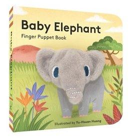 Hachette Baby Elephant Finger Puppet Book