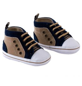 Blue/Tan Boys Shoes