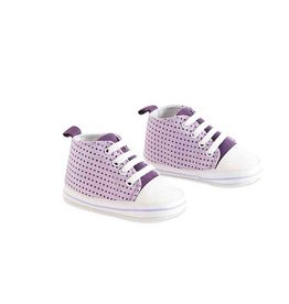 Purple Polka Dot Girls' Shoes