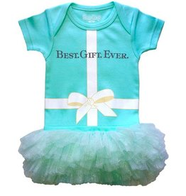 Best Gift Ever Onesie with Tutu