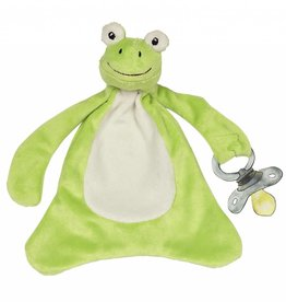 Freckles the Frog Paci-Blankie
