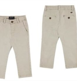 Twill Basic Trousers (Beige)