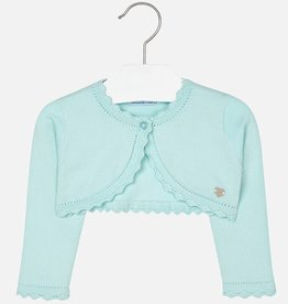 Mayoral Baby Girl Embroidered Cardigan