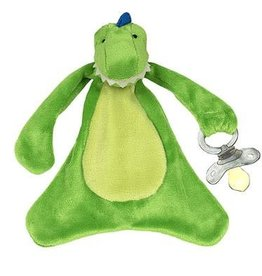 Danny the Dinosaur Pacifier Blankie (D)
