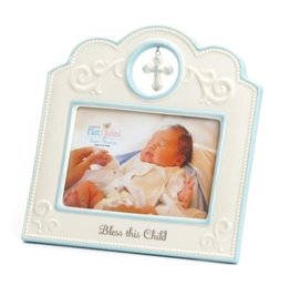Blue Bless This Child Frame (4 x 6)