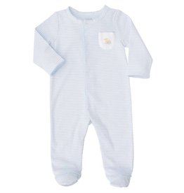 French Knot Duck Sleeper, 3-6 Months