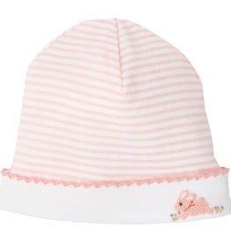 French Knot Bunny Cap (0-3 Months)