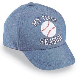 First Season Baseball Hat 6-18M
