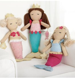 Linen Mermaid Dolls