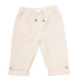 Linen Pull-On Pants 2T