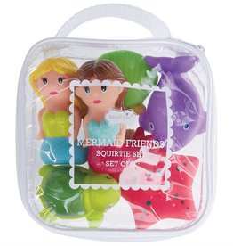 Mermaid Rubber Bath Toys