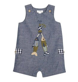 Chambray Lure Shortfall, 3-6 Months