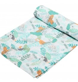 Angel Dear Jungle Bamboo Swaddle Blanket