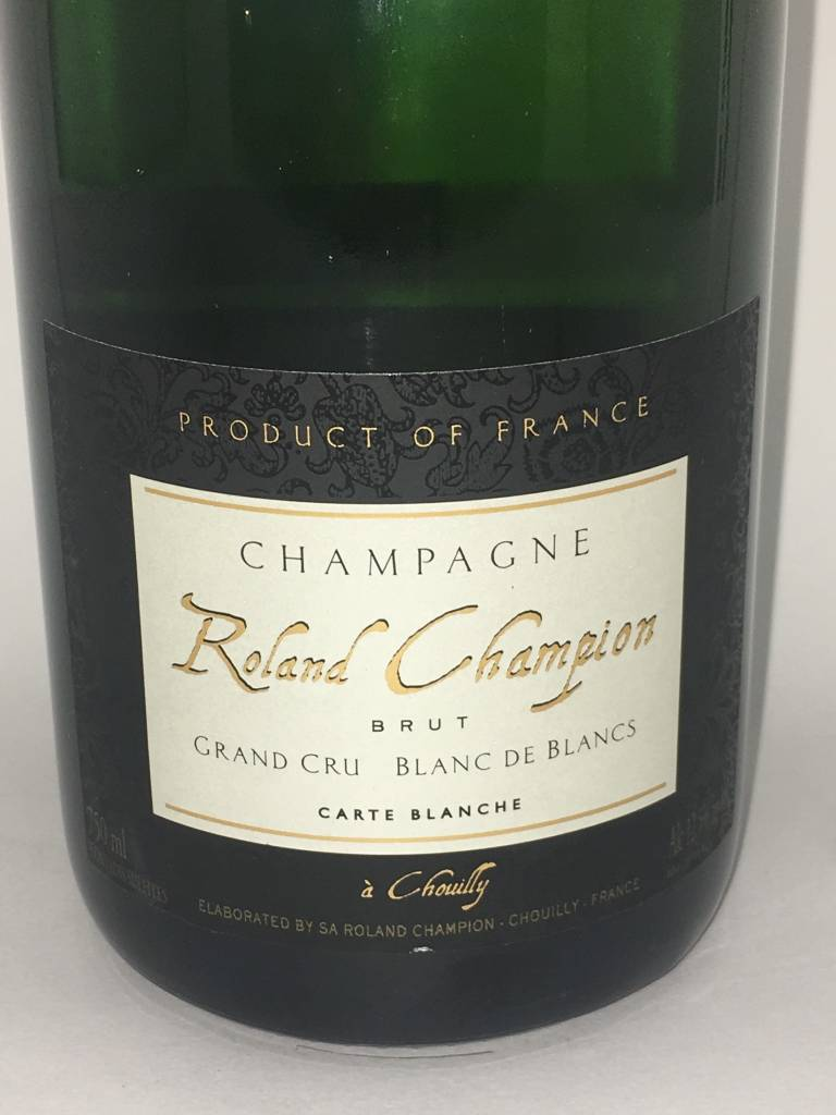 Roland Champion Champagne Grand Cru Blanc de Blancs NV