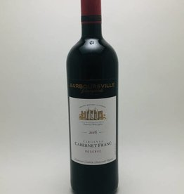 Barboursville Vineyards Cabernet Franc Reserve Virginia 2018