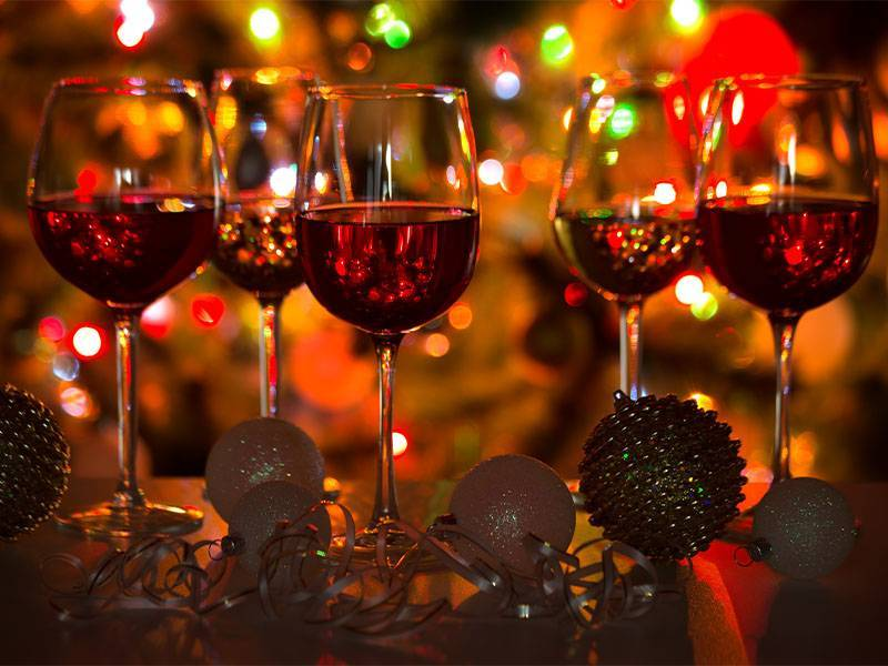 Twelve Wine Days of Christmas